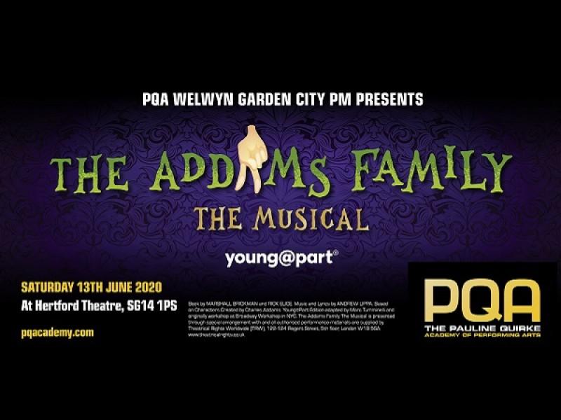 PQA Welwyn Garden City PM Academy : The Addams Family Jr