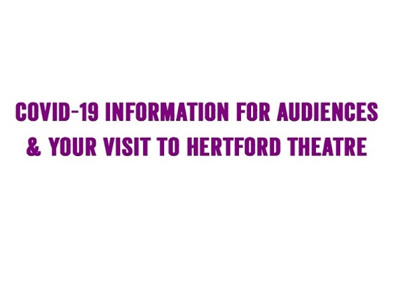 COVID-19 info for audience members