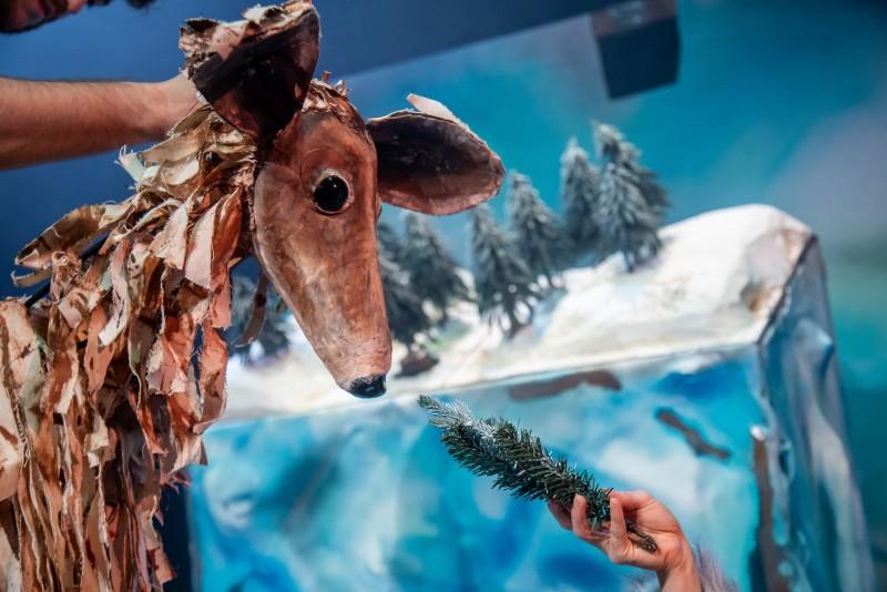 Under The Frozen Moon Half-Term Puppet Making Workshop