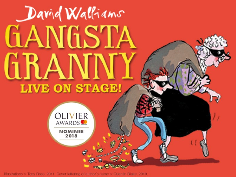 Gangsta Granny - LIVE ON STAGE!