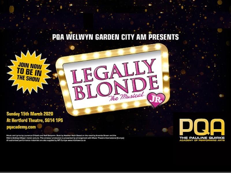 PQA Welwyn Garden City AM Academy presents Legally Blonde Jr.