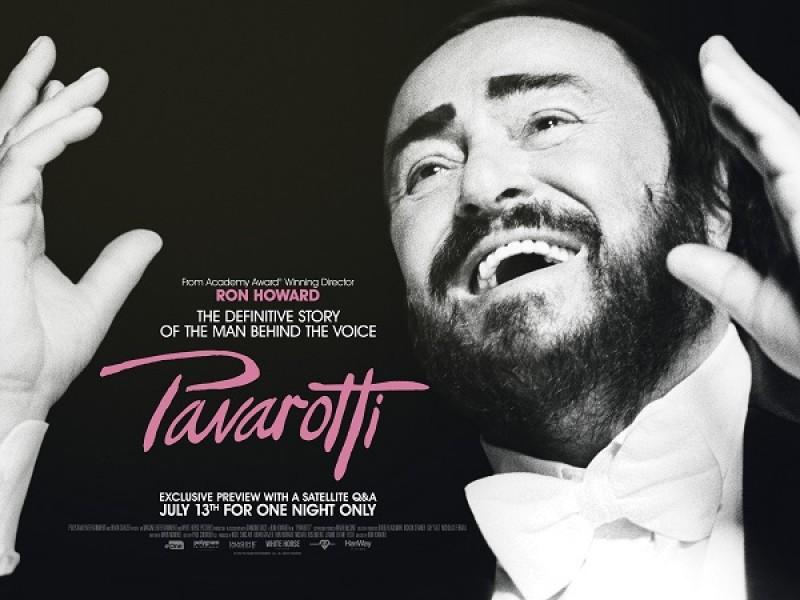 Pavarotti + Satellite Q&A with exclusive content