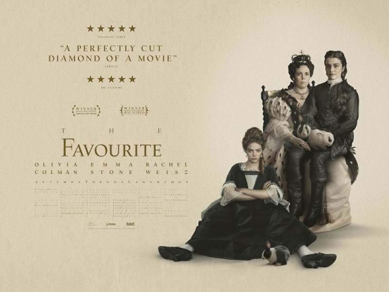 Soft Subtitled: The Favourite (15)