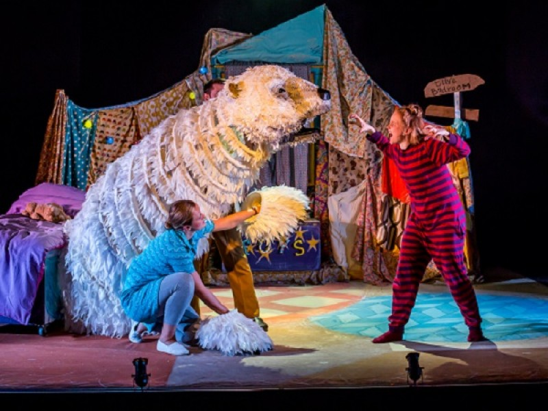 Pins and Needles Productions present The Bear