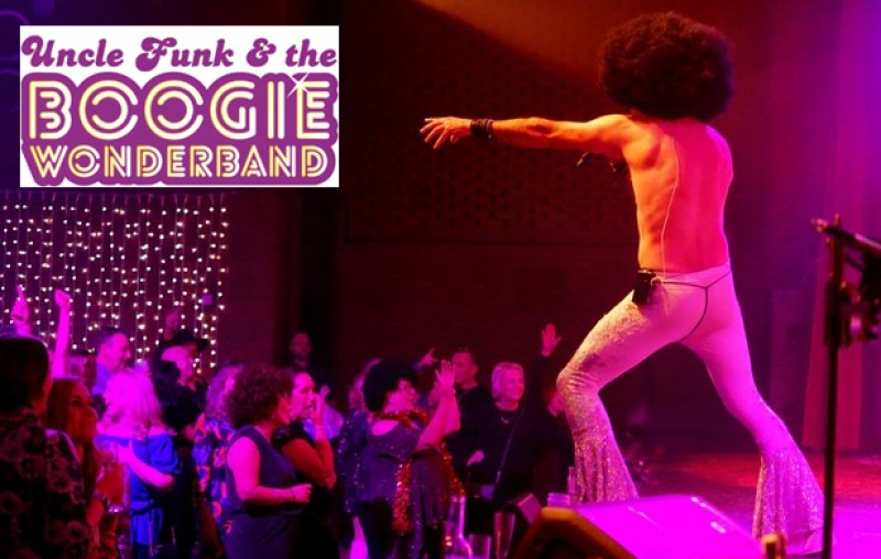 Uncle Funk and the Boogie Wonder Band 'Disco Inferno' Charity Night