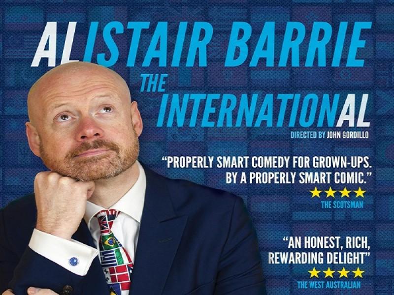 Alistair Barrie: Edinburgh Previews