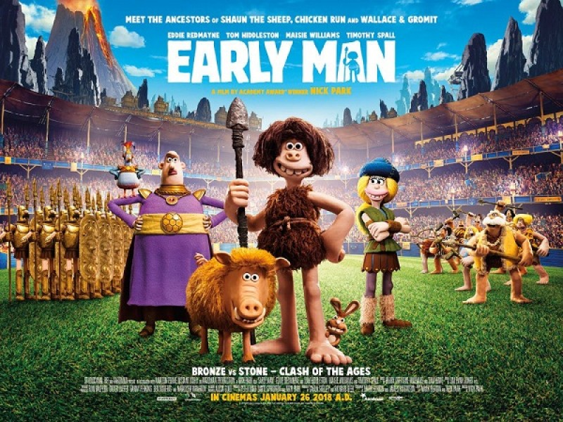 Family: Early Man (PG)