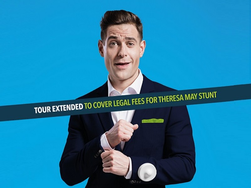 Lee Nelson: Tour extended to cover legal fees for Theresa May stunt