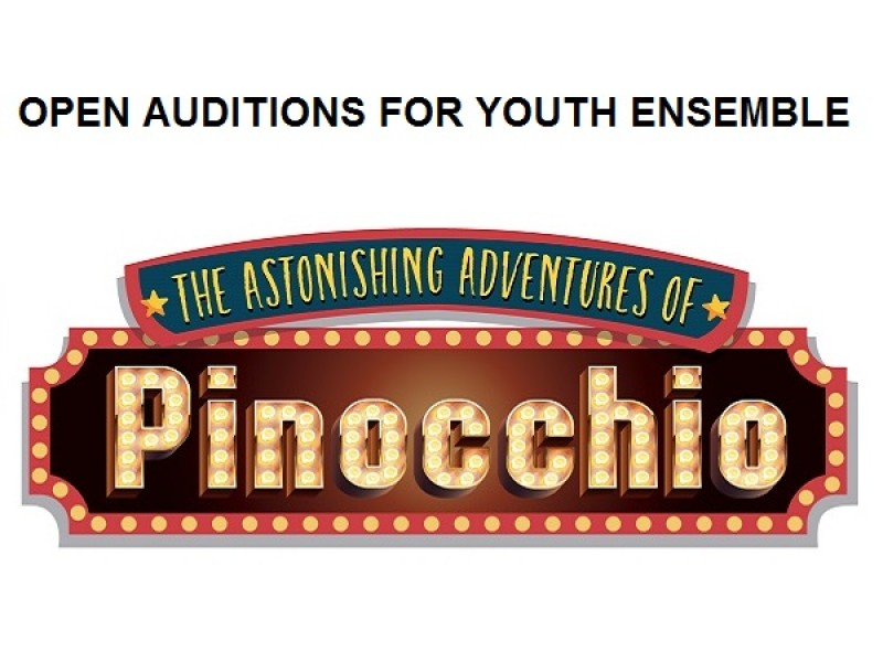 Youth Ensemble Open Auditions - The Astonishing Adventures of Pinocchio
