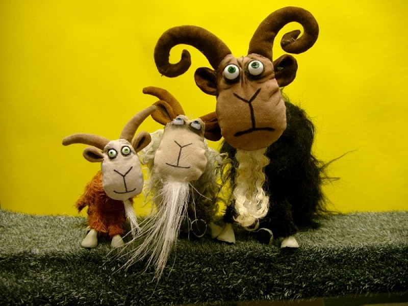 Theatre of Widdershins: Three Billy Goats Gruff