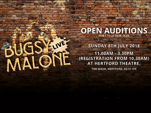 Quirky Youth Theatre's Bugsy Malone Open Auditions