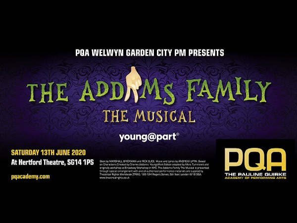 PQA Welwyn Garden City PM Academy : The Addams Family Jr