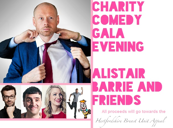 Charity Comedy Gala Evening: Alistair Barrie and Friends