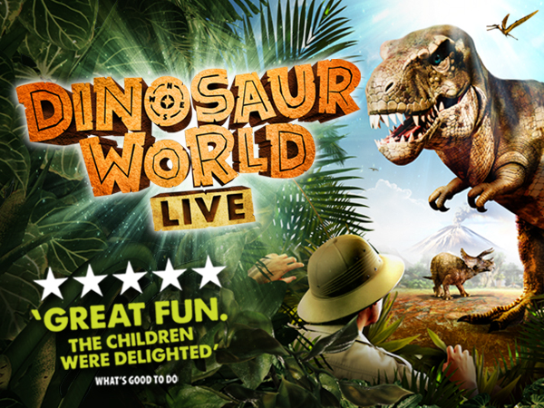 Dinosaur World Live 2018