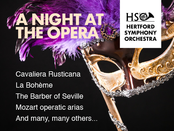 Hertford Symphony Orchestra: A Night at the Opera
