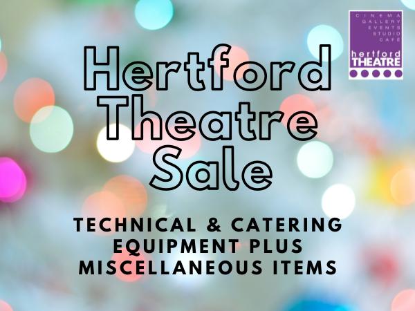Hertford Theatre auction