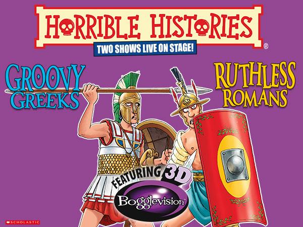 Horrible Histories: Groovy Greeks
