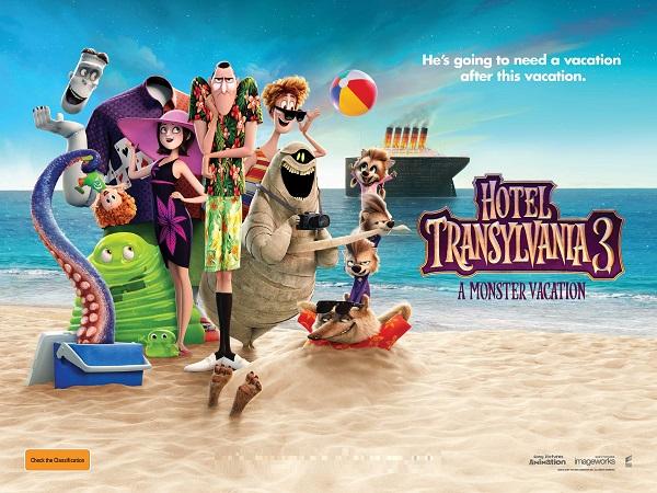 Family: Hotel Transylvania 3 (PG)