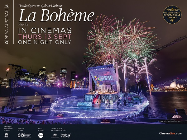 Live Broadcast: La Bohéme on Sydney Harbour 2018 (12A)