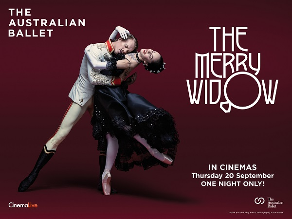 Live Broadcast: The Australian Ballet: The Merry Widow