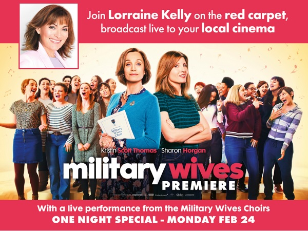 Military Wives Premiere: Live From Leicester Square (12A)