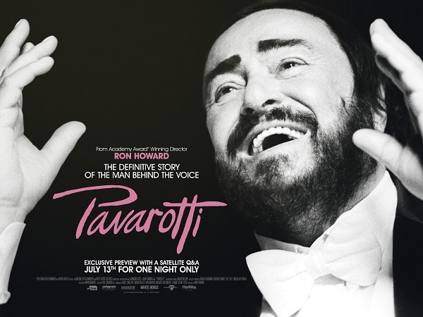 Pavarotti + Satellite Q&A with exclusive content