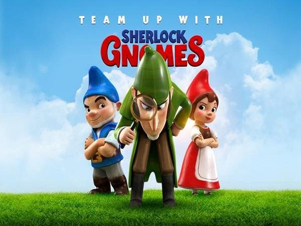 Family: Sherlock Gnomes (U)