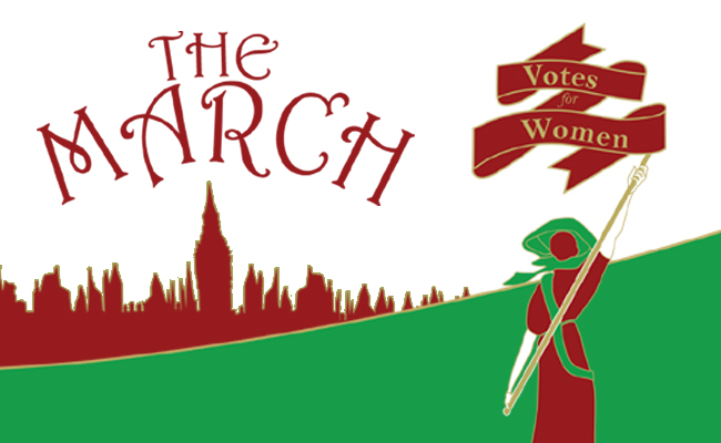 Pins & Feathers: The March - HERTFORD