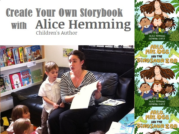 Create your own Storybook with local author Alice Hemming