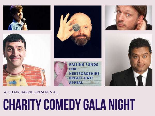 Alistair Barrie presents A Charity Comedy Gala Night
