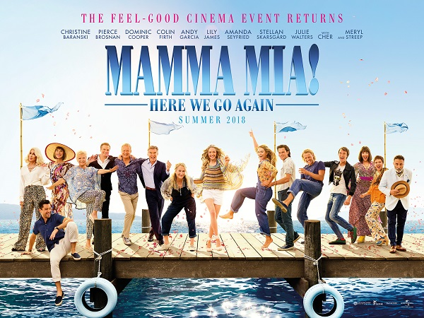 Soft Subtitled: Mamma Mia: Here We Go Again! (12A)