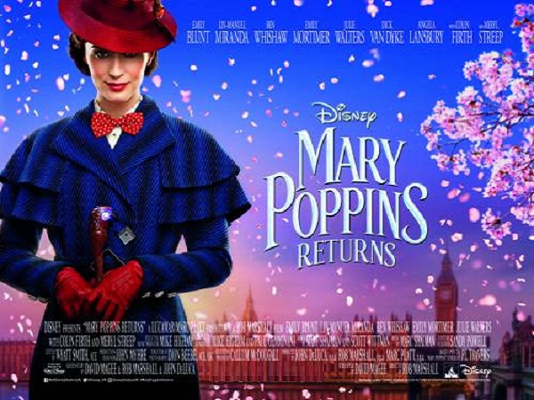 Family: Mary Poppins Returns (PG)