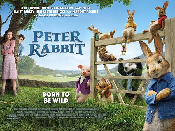 Family: Peter Rabbit (PG)