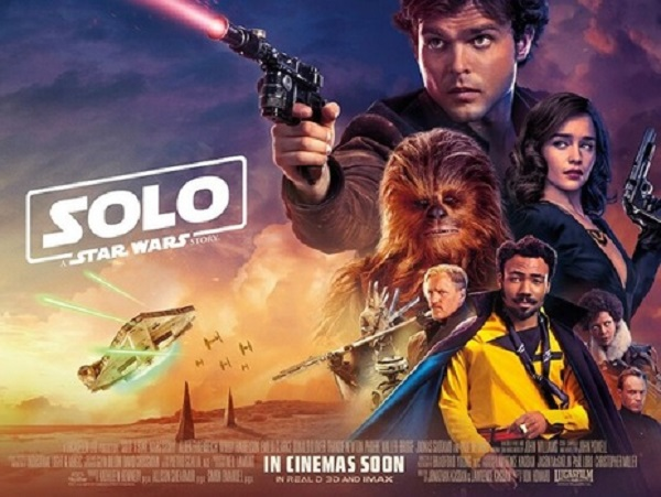 Family: Solo: A Star Wars Story (12A)